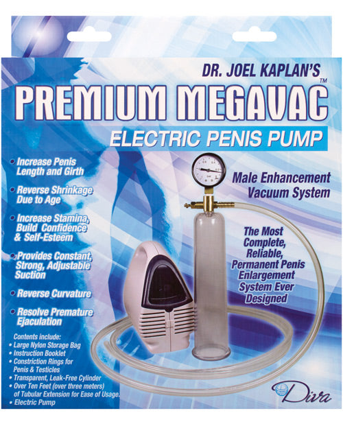 "Dr. Joel Kaplan Electric Male Enlargement Pump System - Medium 2"" - XSexStore"