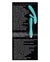 Adam & Eve Eve's Rechargeable Pulsating Dual Massager - Teal - XSexStore