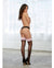 Sheer Thigh High with Contrast Lace Silicone Top - XSexStore