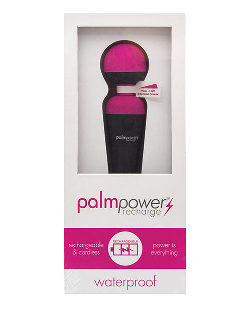Palm Power Waterproof Rechargeable Massager - XSexStore