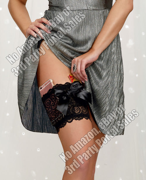 Lace Garter Wallet with Pockets - XSexStore