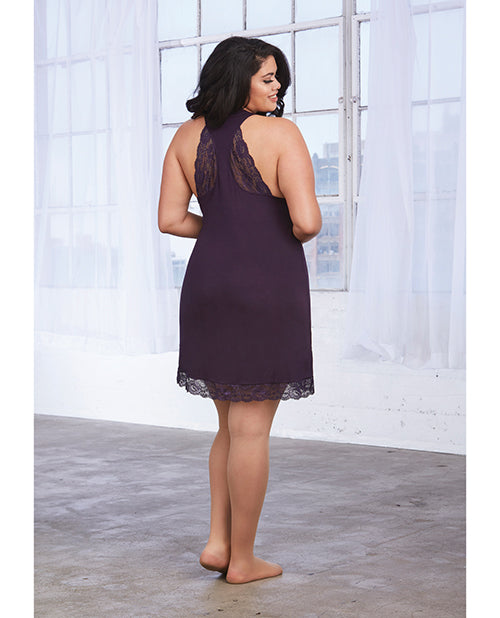 Soft Knit Jersey Sleepwear Chemise. Plus Size Available - XSexStore