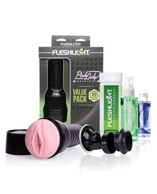 Fleshlight Pink Lady Original Value Pack - XSexStore