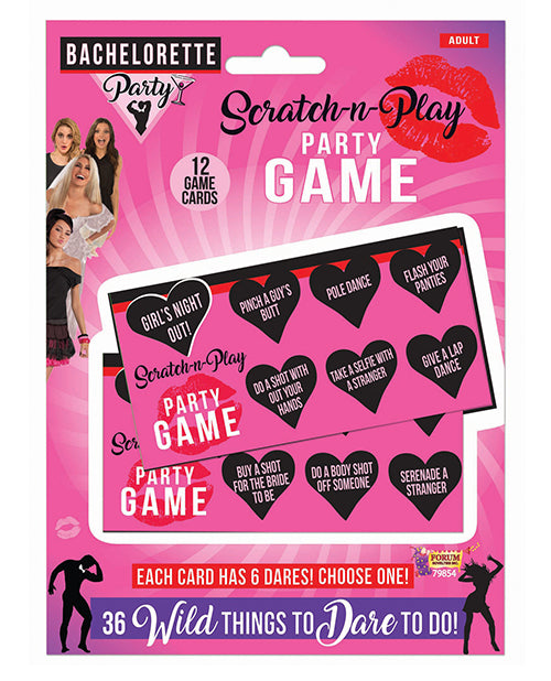 Bachelorette Party Scratch-N-Play Party Game - XSexStore