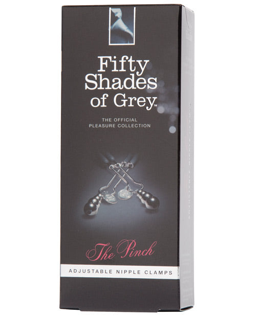 Fifty Shades Of Grey The Pinch Nipple Clamps - XSexStore