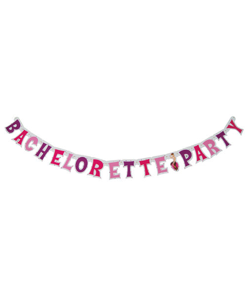 Bachelorette Party Letter Banner - XSexStore