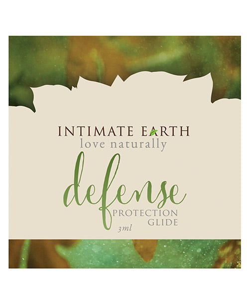 Intimate Earth Defense Protection Glide- 3 Ml Foil - XSexStore