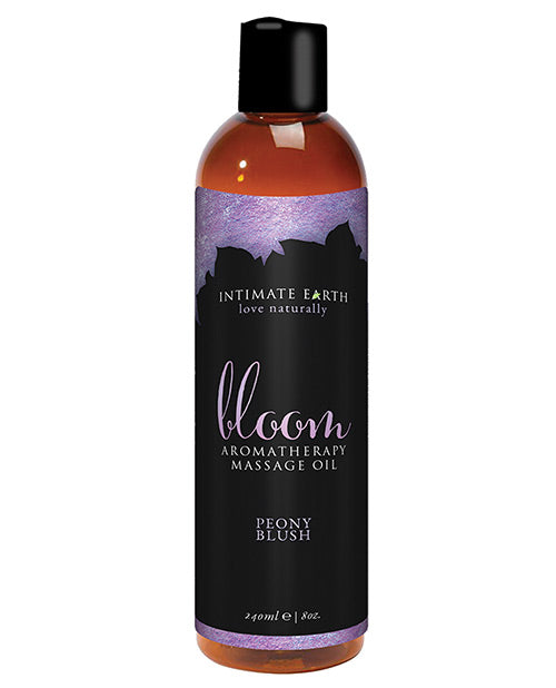 Intimate Earth Bloom Massage Oil - 240 mL Peony Blush - XSexStore
