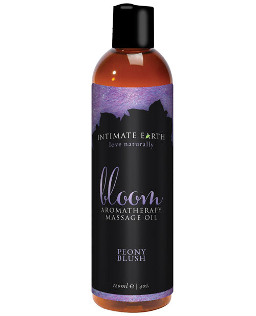 Intimate Earth Bloom Massage Oil- 120 mL Peony Blush - XSexStore