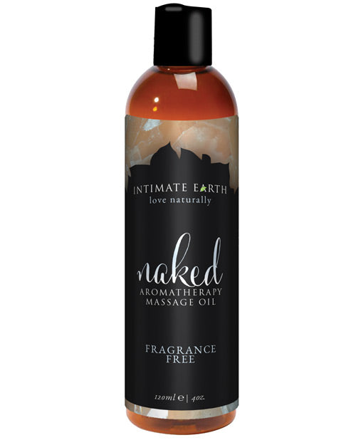 Intimate Earth Naked Massage Oil - XSexStore