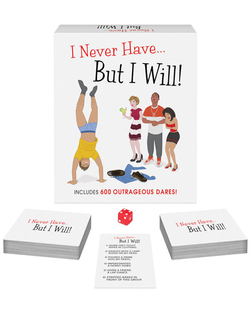 I Never Have But I Will- The Game - XSexStore