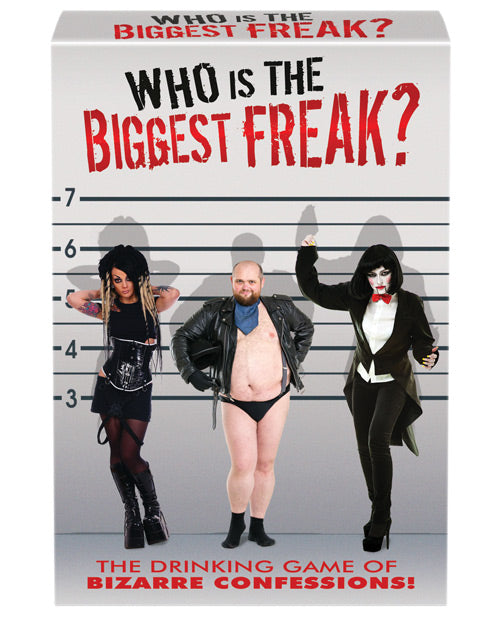 Who Is The Biggest Freak? Party Game - XSexStore
