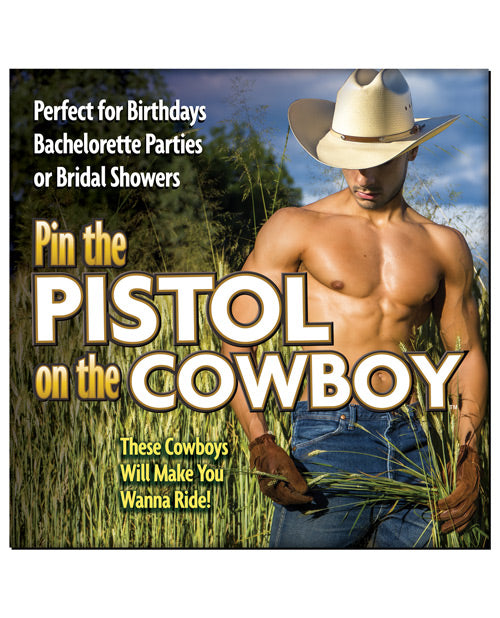 Pin The Pistol On The Cowboy - XSexStore