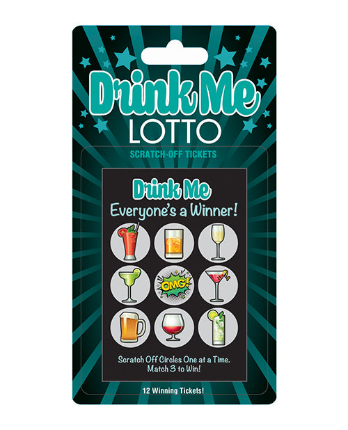Drink Me Lotto Ticket - XSexStore