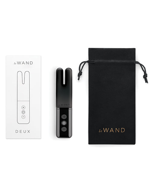 Le Wand Deux Chrome Twin Motor Rechargeable Vibrator - XSexStore