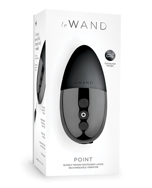 Le Wand Point Rumbly Motor Contoured Lay On Vibrator - XSexStore