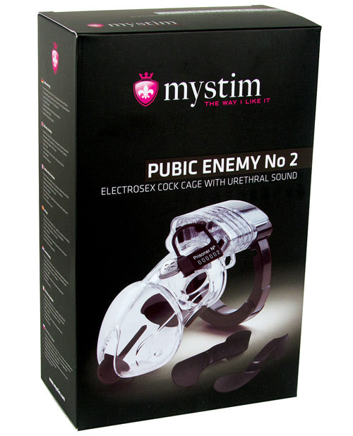 Mystim Pubic Enemy #2 Cock Cage - XSexStore