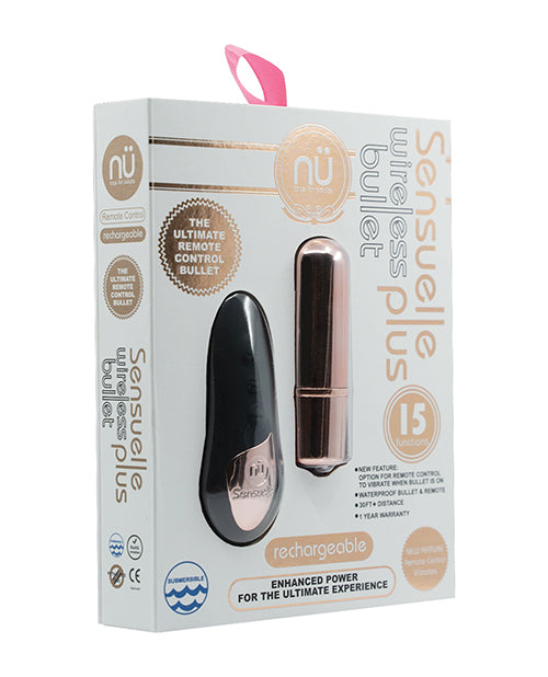 Sensuelle Remote Control Wireless Bullet Plus - XSexStore