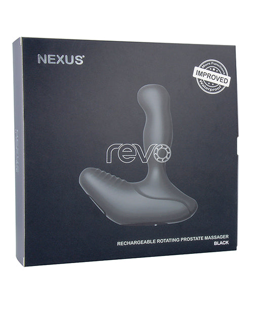 Nexus Revo Prostate Massager - Black - XSexStore