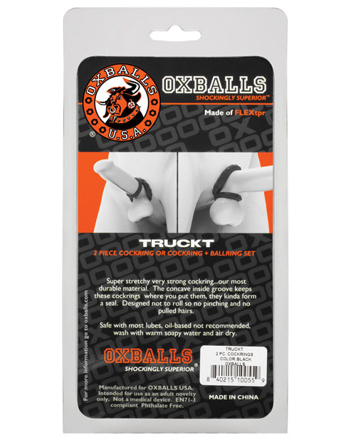 Oxballs TruckT Cock and  Ball Rings - XSexStore