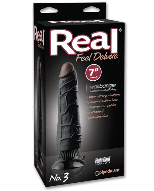 "Real Feel Deluxe No. 3 7"" Waterproof Vibrator - XSexStore"