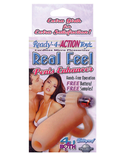 Ready-4-action Real Feel Penis Enhancer - XSexStore
