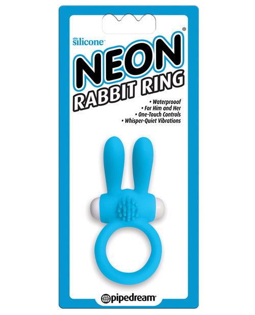 Neon Luv Touch Rabbit Cock Ring - XSexStore