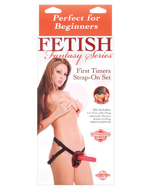 Fetish Fantasy Series First Timers Strap-On Set - XSexStore