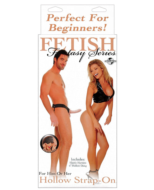 Fetish Fantasy Series For Him Or Her Hollow Strap-On - XSexStore