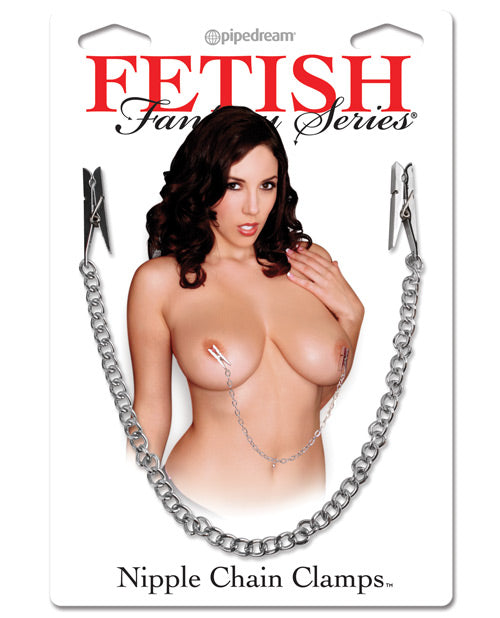 Fetish Fantasy Series Nipple Chain Clamps - XSexStore