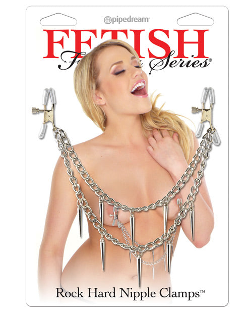 Fetish Fantasy Series Rock Hard Nipple Clamps - XSexStore