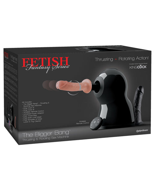 Fetish Fantasy Series The Bigger Bang Thrusting & Rotating Sex Machine - XSexStore
