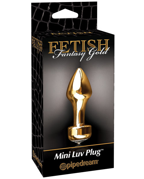 Fetish Fantasy Gold Mini Luv Anal Plug - XSexStore