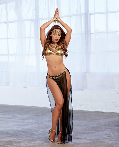 4 Piece Harem Gypsy Outfit with Wrist Restraints - XSexStore