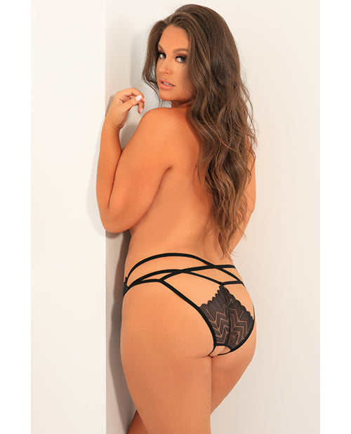 Rene Rofe No Restrictions Crotchless Panty - XSexStore