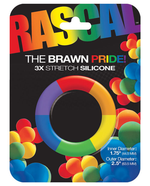 Rascal Toys The Brawn Pride Cock Ring - XSexStore