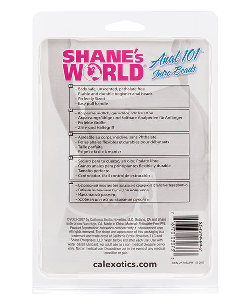 Shane's World Anal 101 Intro Beads - XSexStore