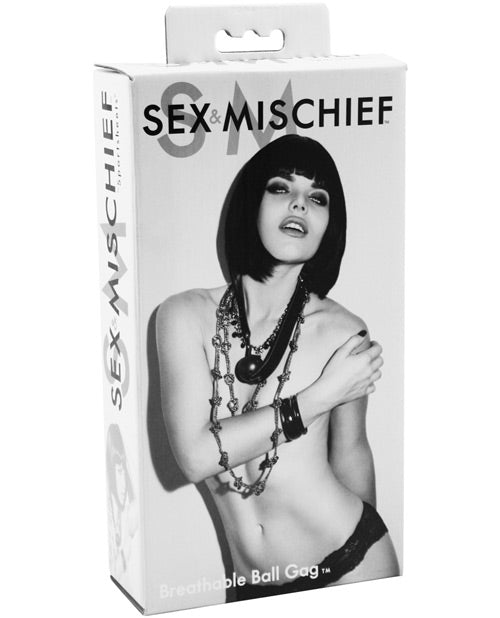 Sex & Mischief Breathable Ball Gag - XSexStore