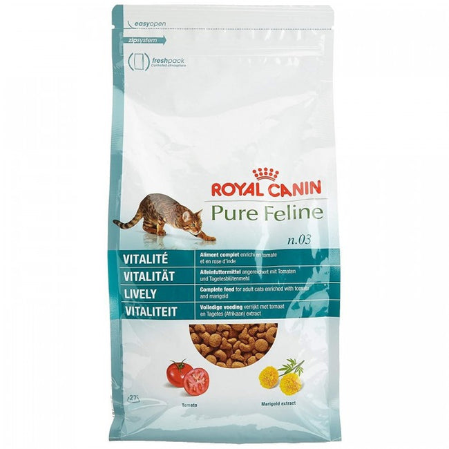 Front - Royal Canin Pure Feline No.3 Lively Cat Food