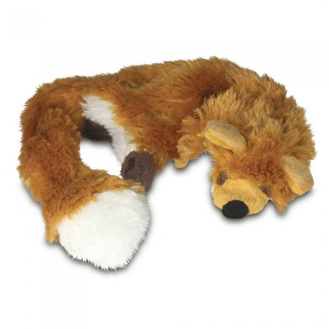 Front - Good Boy Raggy Fox Dog Toy
