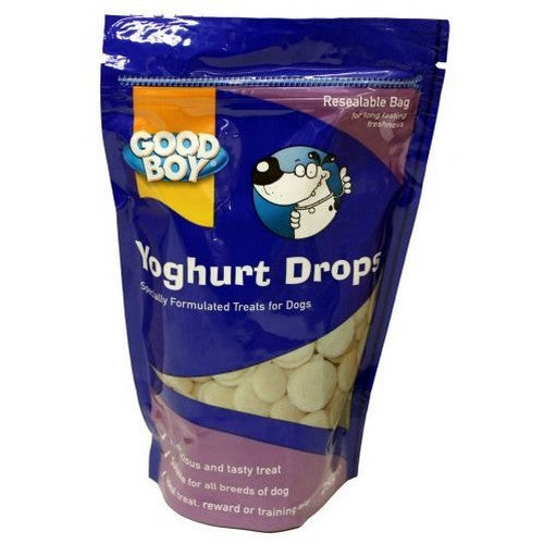 Front - Good Boy Yogurt Drops Dog Treats