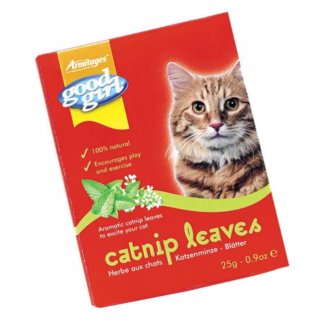 Front - Good Girl Catnip Leaves