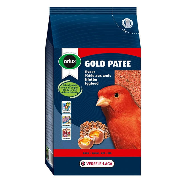 Front - Versele Laga Orlux Gold Patee Red