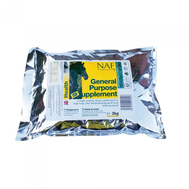 Front - NAF General Purpose Horse Supplement Refill
