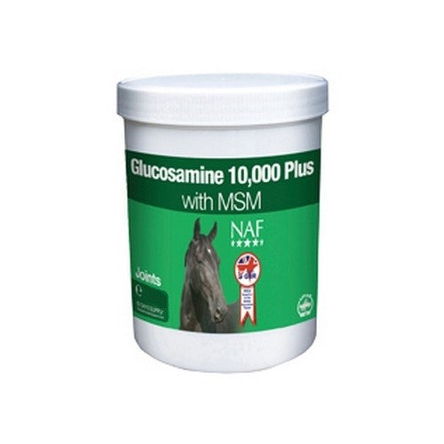 Front - NAF Glucosamine 10 000 Plus With MSM Horse Joint Supplement