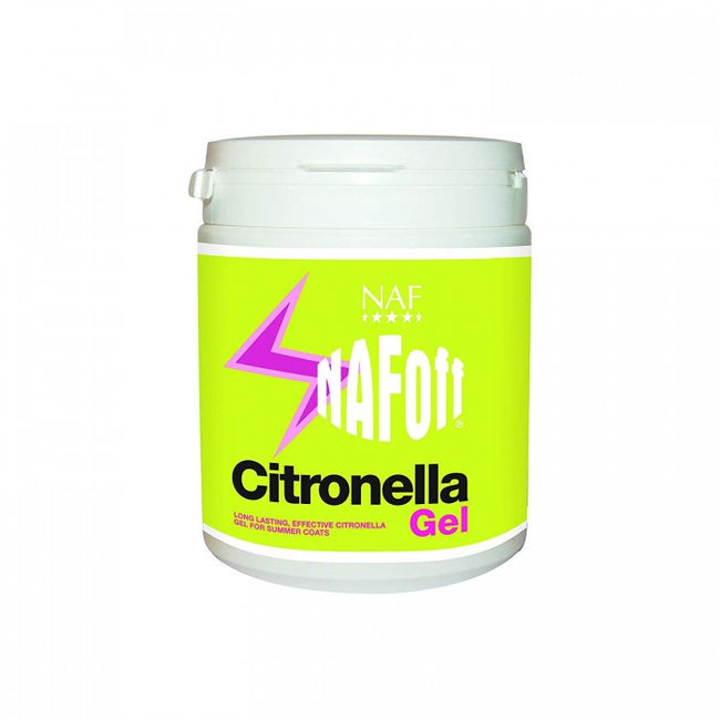 Front - NAF Off Citronella Horse Hair Gel Liquid