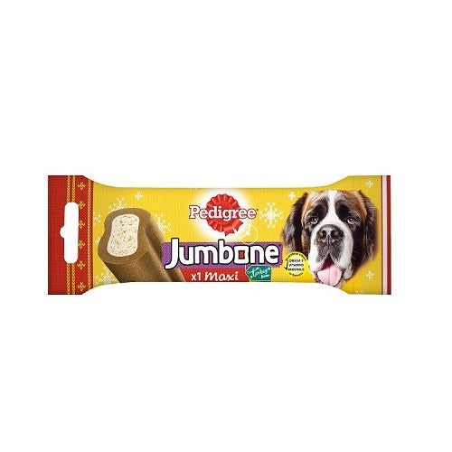 Front - Pedigree Maxi Xmas Jumbone (Pack Of 12)