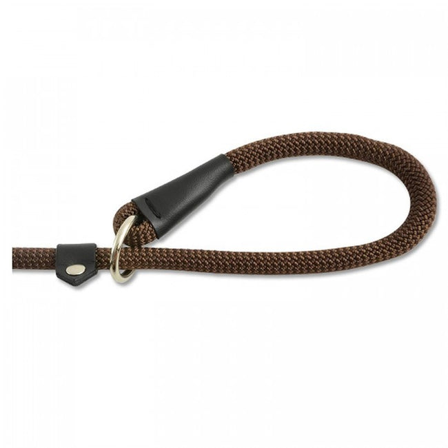 Front - Ancol Nylon Deluxe Rope Slip Dog Lead