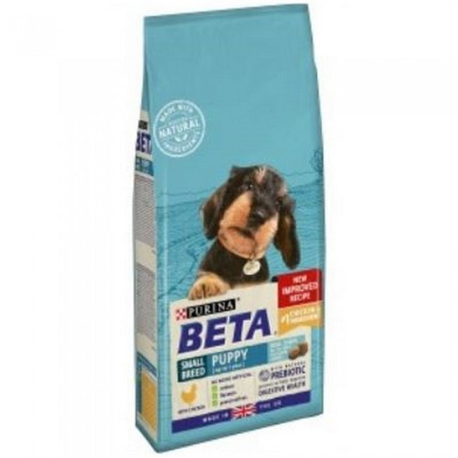 Front - Purina Beta Puppy Small Breed Food With Chicken