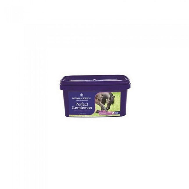 Front - Dodson & Horrell Perfect Gentleman Horse Supplement